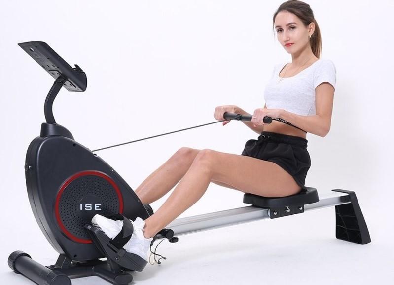 Quels exercices effectuer avec un rameur ?